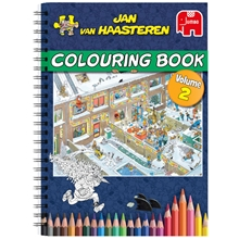 Colouring Book Volume 2 Jan Van Haasteren