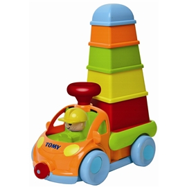 Tomy Pack Stack Play Truck