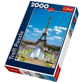 Pussel 2000 Bitar The Eiffel tower