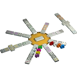 Mexican Train Spel