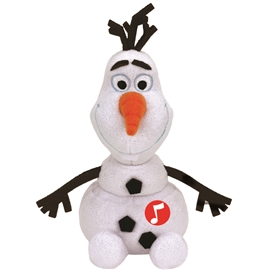 TY Frozen Olaf med ljud medium