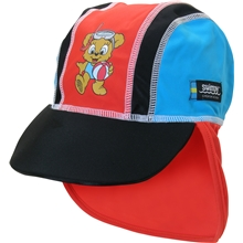 Swimpy UV-hatt Bamse Röd
