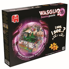 Wasgij Destiny Pussel #13 Commuting Chaos