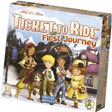 Ticket To Ride First Journey (Sve)