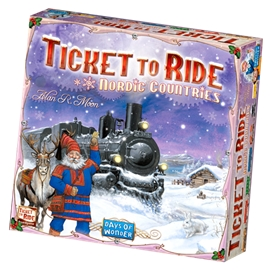 Ticket To Ride Nordic Countries (Sve)