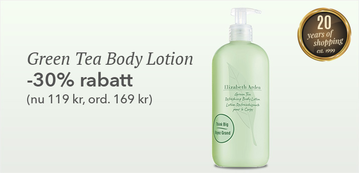Green Tea Body Lotion - 30% rabatt