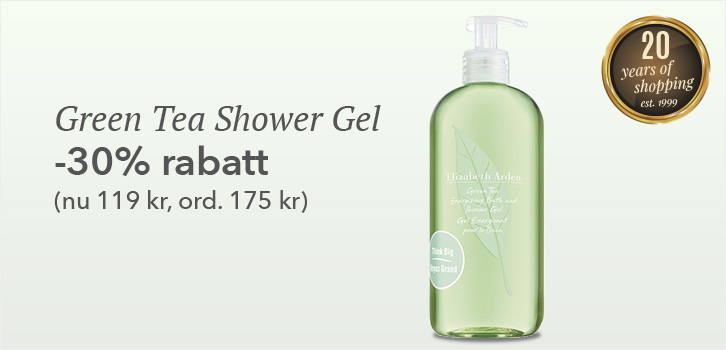 Green Tea Shower Gel 500ml - 30% rabatt