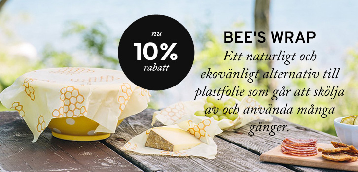 Bee's Wrap - 10% rabatt!