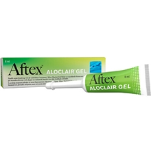 8 ml - Aftex Aloclair gel 8ml