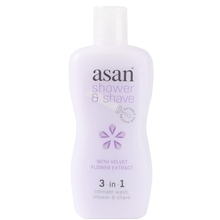 220 ml - Asan Shower & Shave