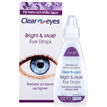 Clear Eyes Bright & Moist