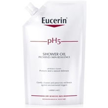 Eucerin pH5 Shower Oil oparfymerad refill