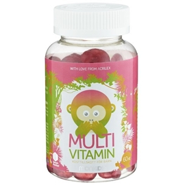 Monkids Multivitamin 60 tuggtabletter