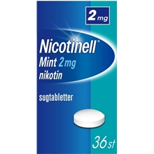 36 tabletter - Nicotinell Mint 2mg (Läkemedel)