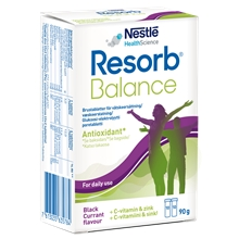 Resorb Balance brustabletter