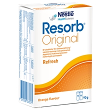 20 st - Apelsin - Resorb Original brustabletter