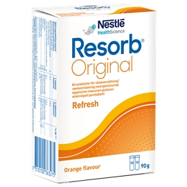 Resorb Original brustabletter