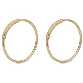 Mini Gold Creoles - Pilgrim - Örhängen  340a865d15c62