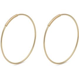Medium Gold Creoles - Pilgrim - Örhängen  53b94dc156fd2