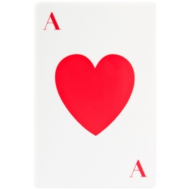 Ace Of Hearts Hard Paste