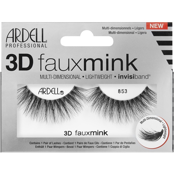Ardell 3D Faux Mink 853