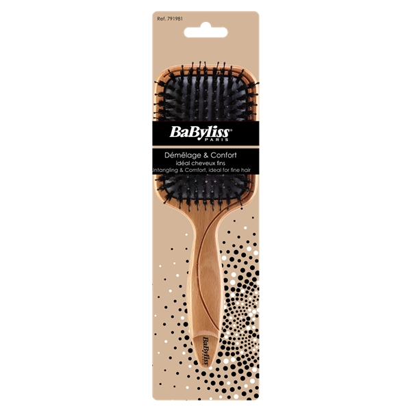 791981 Untangling & Comfort Boar Bristle Brush