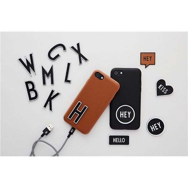 Design Letters MyCover iPhone X/XS Black (Bild 2 av 2)