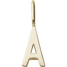 Design Letters Archetype Charm 10 mm Gold A-Z