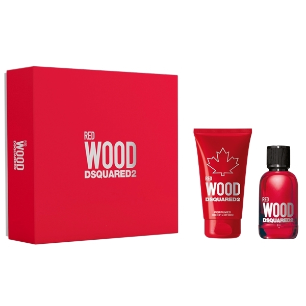 Dsquared2 Red Wood Pour Femme - Gift Set