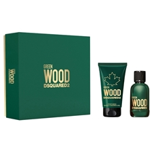 Dsquared2 Green Wood Pour Homme - Gift Set