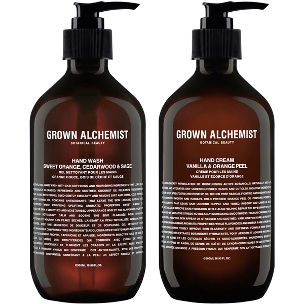 Grown Alchemist Twin Set Hand Wash & Cream (Bild 1 av 2)