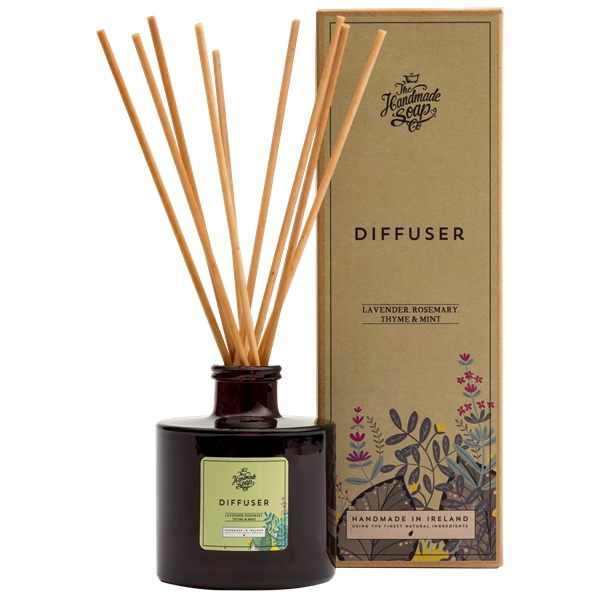 Diffuser Lavender, Rosemary & Mint
