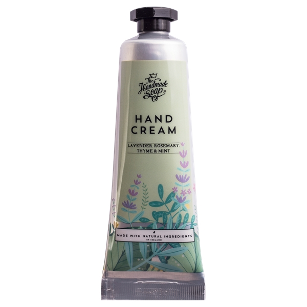 Hand Cream Tube Lavender, Rosemary & Mint