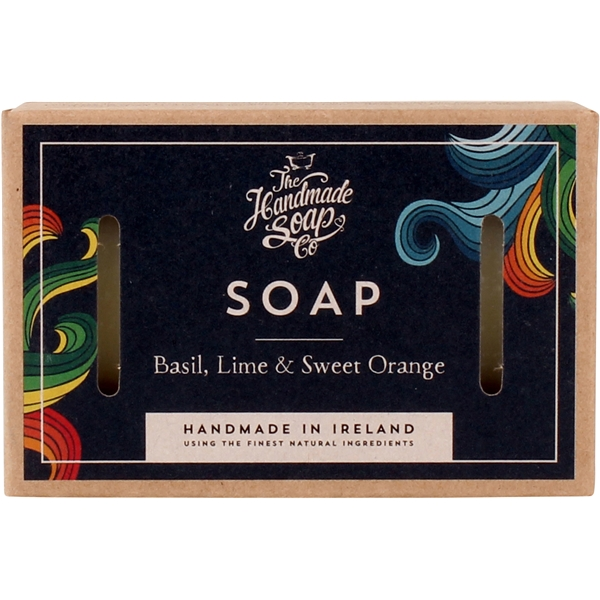 Soap Basil, Lime & Sweet Orange (Bild 1 av 2)
