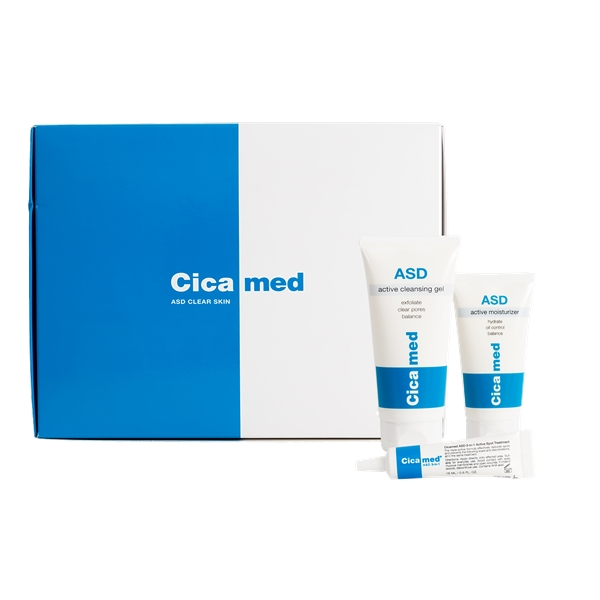 Cicamed ASD Clear Skin Set