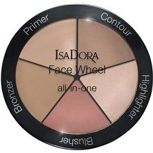 18 gram - IsaDora Face Wheel All In One