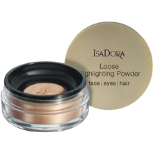 8 gram - No. 050 Golden Glow - IsaDora Loose Highlighting Powder