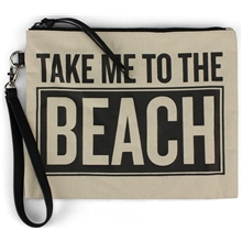 Beach Canvas Pouch