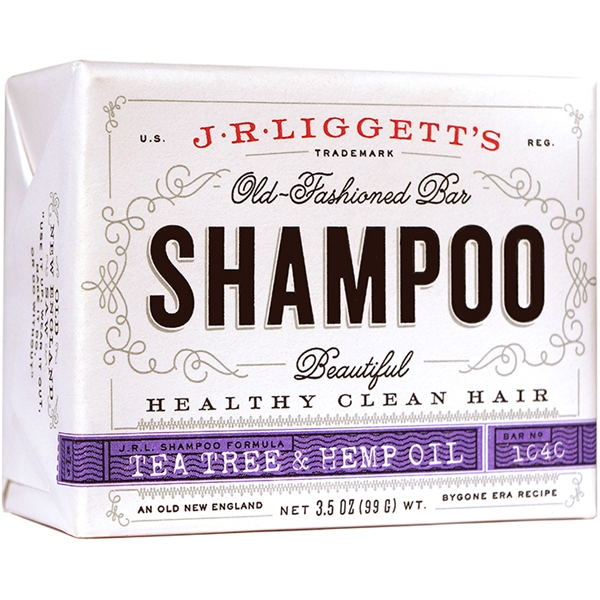Tea Tree & Hemp Oil Shampoo Bar