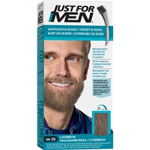 1 set - No. 025 Light Brown - Just For Men Moustache & Beard