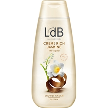 250 ml - LdB Shower Cream Rich Jasmine