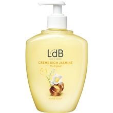 500 ml - LdB Creme Rich Jasmine Hand Soap