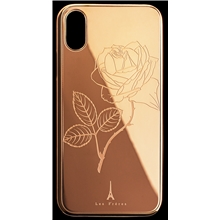 Les Fréres Rosé Flower iPhone Case