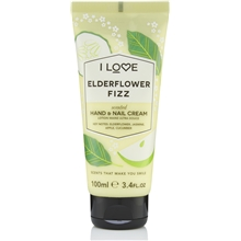 Elderflower Fizz Scented Hand & Nail Cream