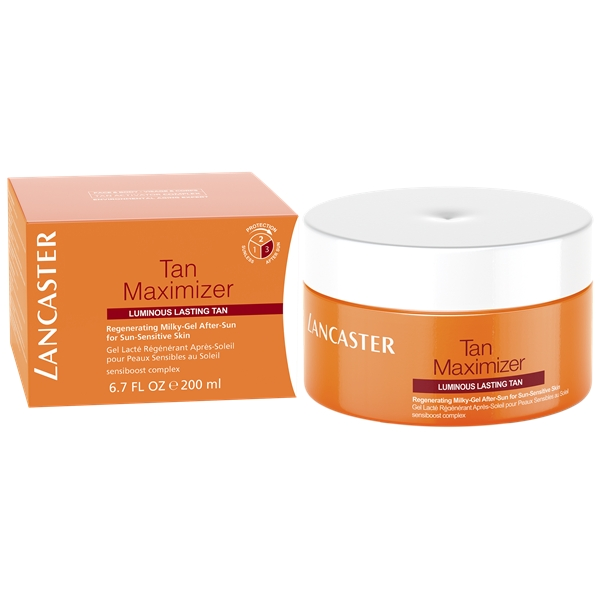 Tan Maximizer Regenerating Milky Gel After Sun