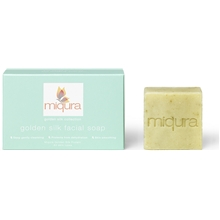 40 gram - Miqura Golden Silk Facial Soap