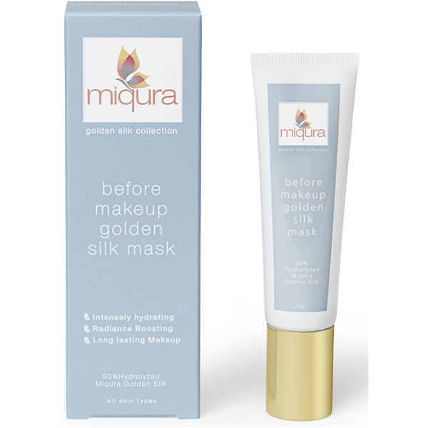 Miqura Gold Silk Before Makeup Mask
