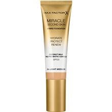 30 ml - No. 004 Light Medium - Miracle Second Skin Foundation