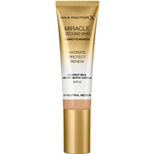 33 ml - No. 007 Neutral Medium - Miracle Second Skin Foundation