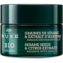 50 ml - Organic Sesame Seeds & Citrus Radiance Detox Mask